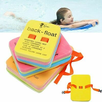 Foam Back Float Swimming Training Aid Swimming Learning Float For Kids Adults