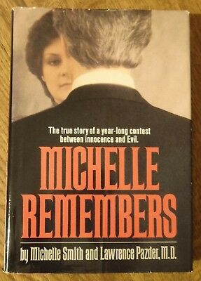 Michelle Remembers by Michelle Smith  1980 1st Edition Hardcover/DJ Church Satan