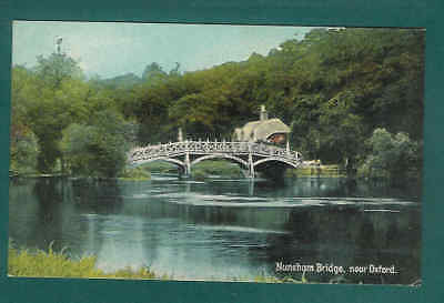 Picture postcard Nuneham Bridge Near Oxford Early 20th Century Circa 1915  F10