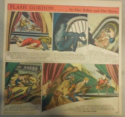 Flash Gordon Sunday Page by Mac Raboy from 1/18/1953  2/3's Full Page Size