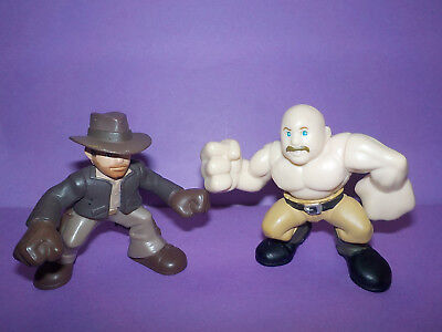 Hasbro Indiana Jones Adventure Heroes Lot Indiana Jones & German Mechanic Figs.