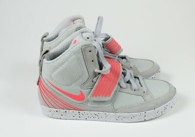 d16b6e0e7edf9 NIKE NSW SKYSTEPPER Men's Sneakers Pure Platinum/Atomic Red~599277-002 Size  10.5