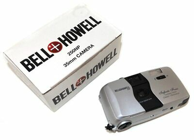 Vintage Bell & Howell 250NP Compact 35mm Point & Shoot Film Camera in Box