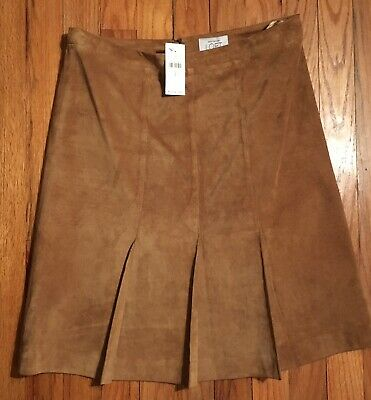 968a5b1d0 NWT REBECCA TAYLOR Navy Skirt with Leather Strips ,Size 2 - $45.00 ...