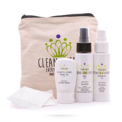 Clean Tween Everyday Personal Clutch with Personal Hygienie Products Combo Pack