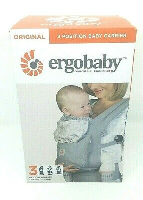 a3124f39960 Ergobaby Original 3 Position Baby Carrier.12-45 lbs Cool Air Mesh. Gray