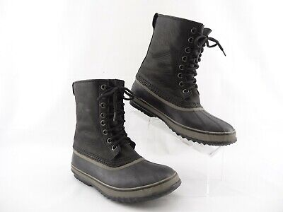 Sorel 1964 Premium T Mens Size 9.5 Leather Boots Waterproof Insulated NM1561-010