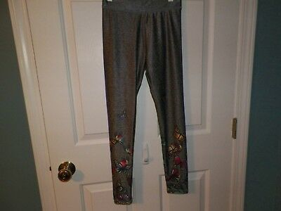 Girls Justice Size 10 Leggings Pre-Owned Euc