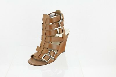 a5a3a5038dd Vince Camuto MARTEZ Wedge Gladiator Sandals Brown Women s Shoes Size 10 M  NEW