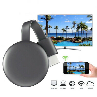 Miracast 1080P Chromecast 3rd WiFi Digital HDMI Media Streaming Newest Versions