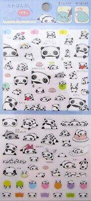 San-X Tarepanda Clear Sticker Sheet (35705)~KAWAII!!