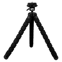Xsories Big Bendy with Camera Mount - Black (BNDY4A001)