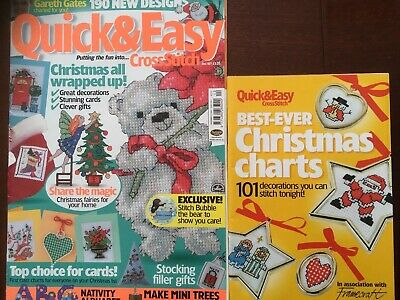 Quick Easy Cross Stitch Magazine Issue 107 Plus Booklet