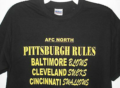 online store c07d8 da512 PITTSBURGH STEELERS AFC North Football Men's T-Shirt by Junk ...