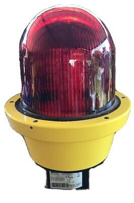 Stahl 6162/19-55-311 Atex Continuous LED Beacon visual signalling light- Red