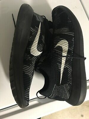 check out b137d 4bd81 NIKE ROSHE RUN 2 FLYKNIT USED SIZE 13 BLACK White 918262 001 Worn Once.