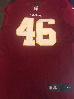 Cheap NIKE WASHINGTON REDSKINS #46 Morris 80th Anniversary Jersey (SMALL  hot sale