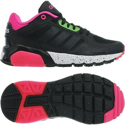 ADIDAS RUN9TIS TM W schwarz pink Damen Low-Top Sneakers ...