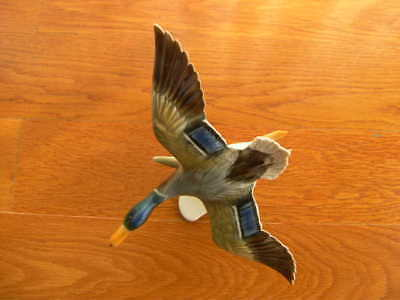 Vintage German Kaiser Pottery Porcelain Figurine Duck Bird Ceramic Artist Signed