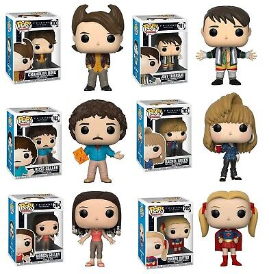 Funko Pop Friends the TV Series : Individual or Set Vinyl Figure w/Protector