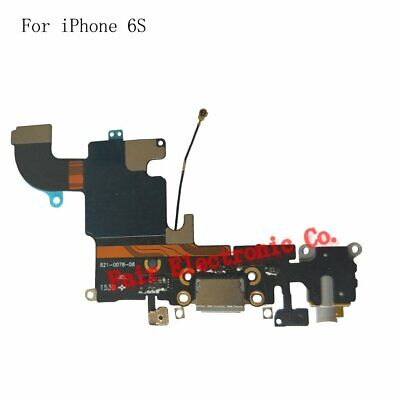 Black iPhone 6S Charging Port - Replacement Charger Flex Cable USB Dock Mic