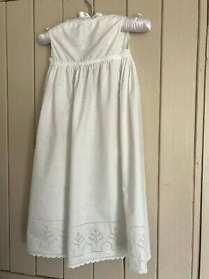 Vintage cotton Christening gown / petticoat