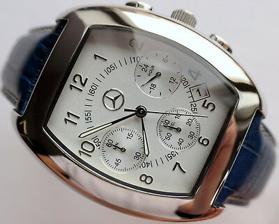 Rare Mercedes Benz Classic Car Accessory Sport Made in Germany Chronograph Watch