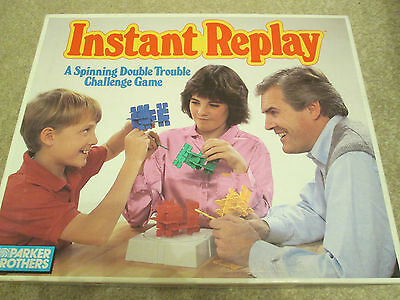 Vintage Instant Replay Challenge Board Game ~ Great Fun ~ Complete
