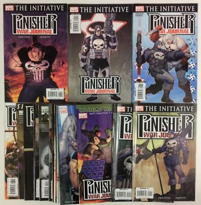 Punisher War Journal #6 to #26 (Marvel 2006) 21 x hi grade issues.