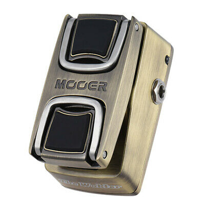 MOOER WCW1 The Wahter Wah Guitar Effects Pedal with Classic Wah Tone Pressure Se