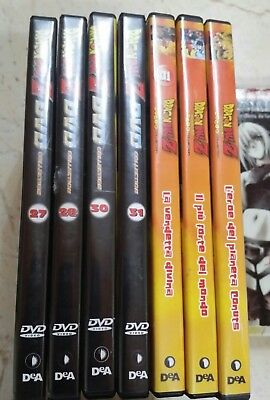 Lotto 14 DVD Anime De Agostini - Dragon Ball Z - Ken - City Hunter