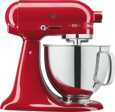 """KitchenAid 100 Jahre Limited Edition """"Queen of Hearts"""" 5KSM180HESD Passion Red"""