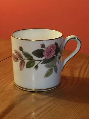 Wedgwood Hathaway Rose Coffee Can / Cup only