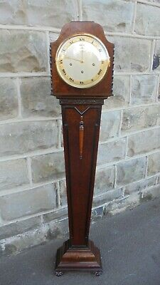 Antique Burr Walnut Granddaughter Clock