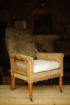 Gorgeous Mid 19th century English country house armchair