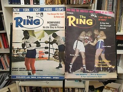 Morrissey Southpaw Grammar & Boxers Ring Magazines Smiths Kenny Lane (1963)