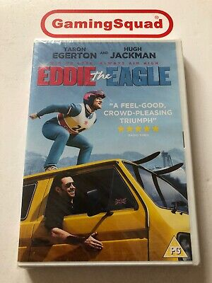 Eddie the Eagle NEW DVD, Supplied by Gaming Squad