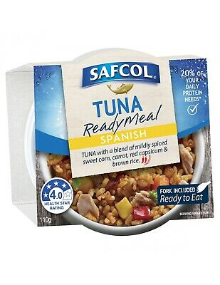 Safcol Tuna Meals Spanish 110g