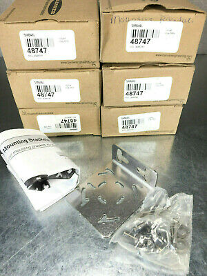 (Lot of 6) Banner SMB46L Sensor Mounting L Bracket (48747)