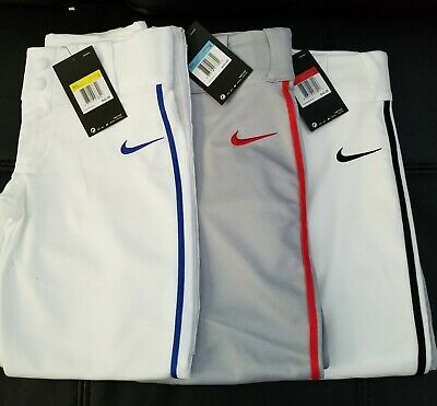 Nike Vapor Pro Baseball / Softball Pants Piped YOUTH / Select your Size/Color