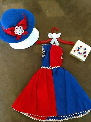 Vintage Barbie Fancy Free   Very Nice!   Free Matching Designer Hat & Jewelry!