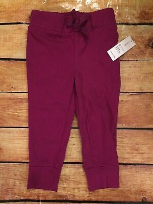 Old Navy Toddler Girls 12-18 Month Purple Skinny Knit Pants Joggers NWT