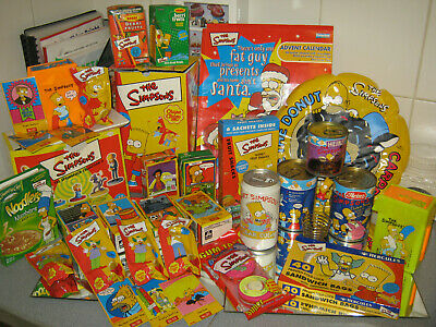 The Simpsons Grocery Collection Various Items (Rare Collectibles 1992+)