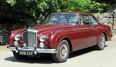 1960 Bentley S2 Continental H.J.Mulliner Two Door Sports Saloon BC141AR Classic