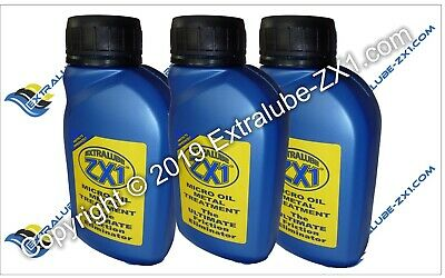 Extralube ZX1 Super SAVER Bundle 7 - 3 x ZX1 250ml - Official UK Seller