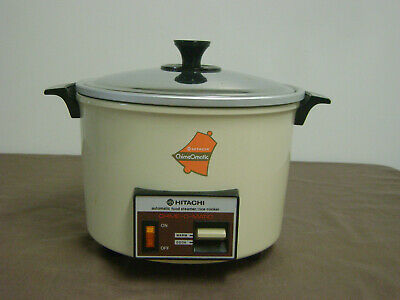 Hitachi Chime-o-Matic Automatic Steamer Rice Cooker 8.3 Quart RD 5083 Tested