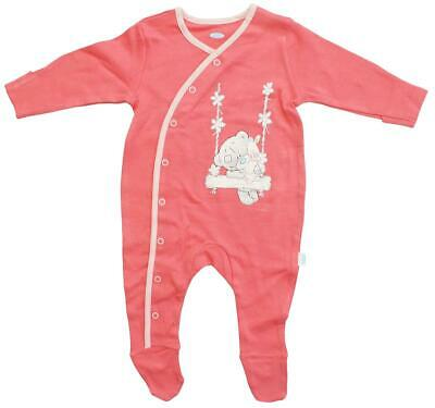 Girls Sleepsuit Babygro Me To You Tatty Teddy Cotton Newborn Baby to 3 Months