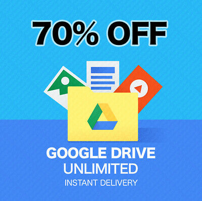 🔥Unlimited Storage Google Drive + One D5T + 365Fre Forever⚡Lighting Service