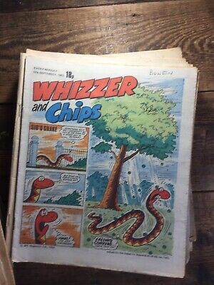Whizzer And Chips Comic 1980-1984 x