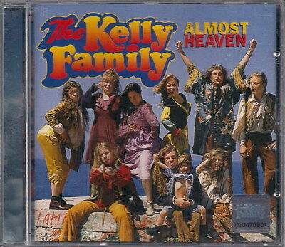 THE KELLY FAMILY - ALMOST HEAVEN  - CD Mint